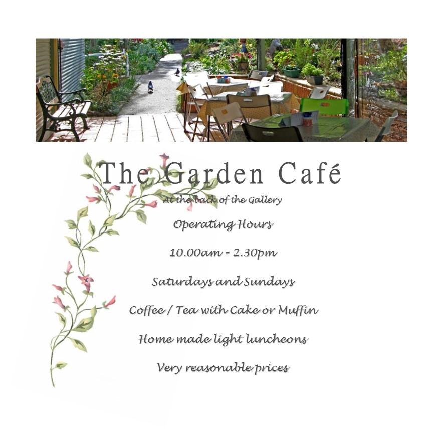 Garden Cafe Flyer